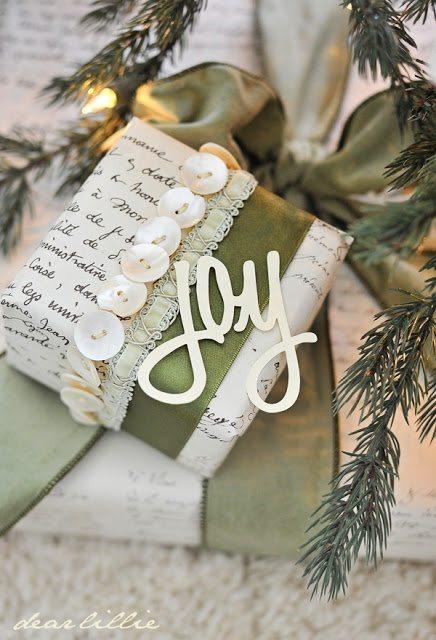 Crafty Gift Wrap