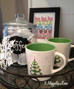 christy coffee station