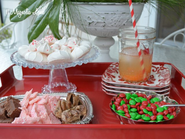 holiday desserts drinks