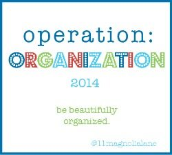 operation organization button
