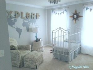 Baby Boy Nursery Makeover Plus Vinyl Giveaway
