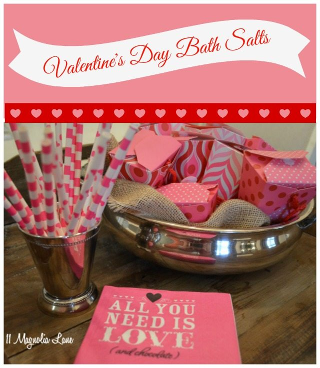 Valentine's Day Lavender Bath Salts