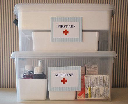 first aid and medicine