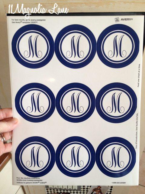 monogram-labels