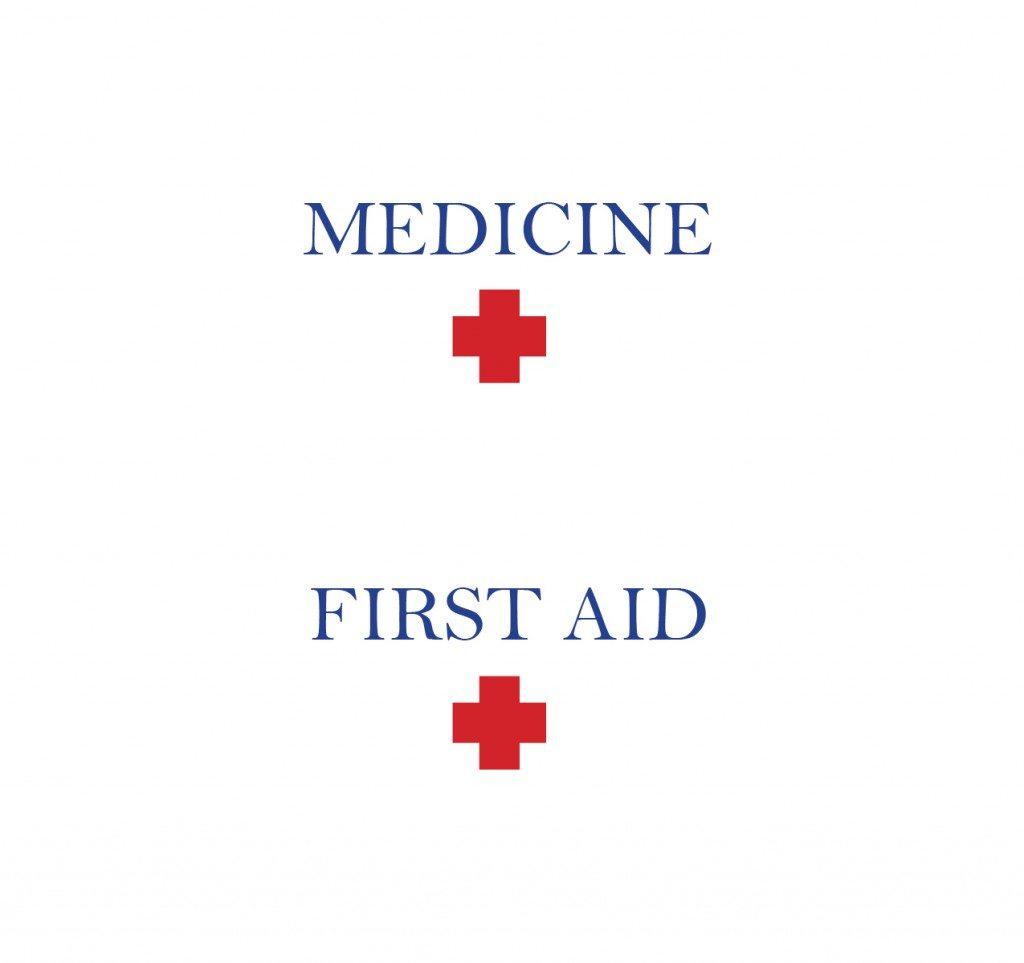 printable first aid medicine label