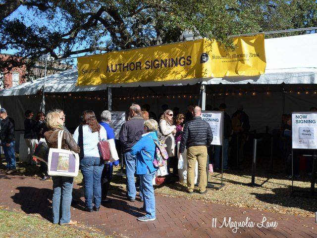 Savannah Book Festival Telfair Square