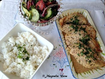 Chicken Tzatziki Dinner