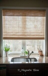 Light and Bright Roman Shades with An Awesome Giveaway!
