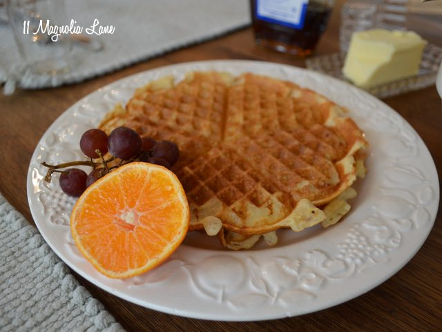raised waffles recipe