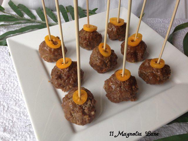 Hawaiian Meatball Appetizer