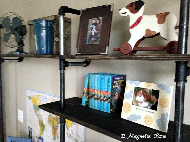 Metal shelving 5