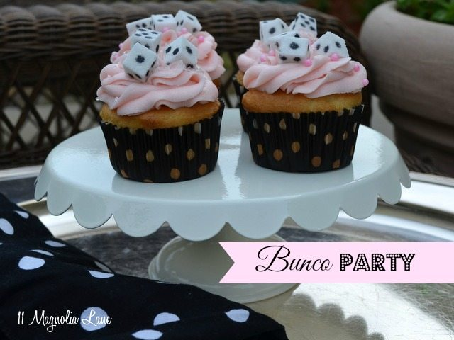 bunco cupcakes party