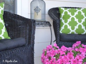 spray paint outdoor fabric cushions pillows can you