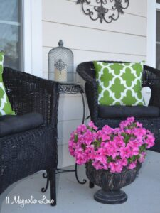 DIY Experiment:  Use Regular Spray Paint on Outdoor Cushions!