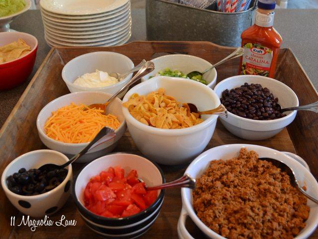 taco salad bar