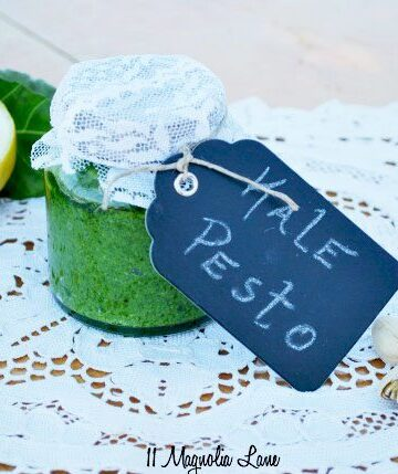 Healthy & Delicous Kale Pesto Recipe