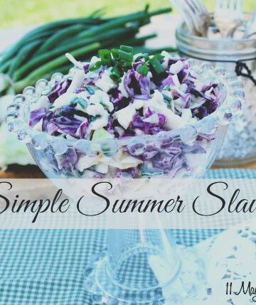 Simple Summer Slaw