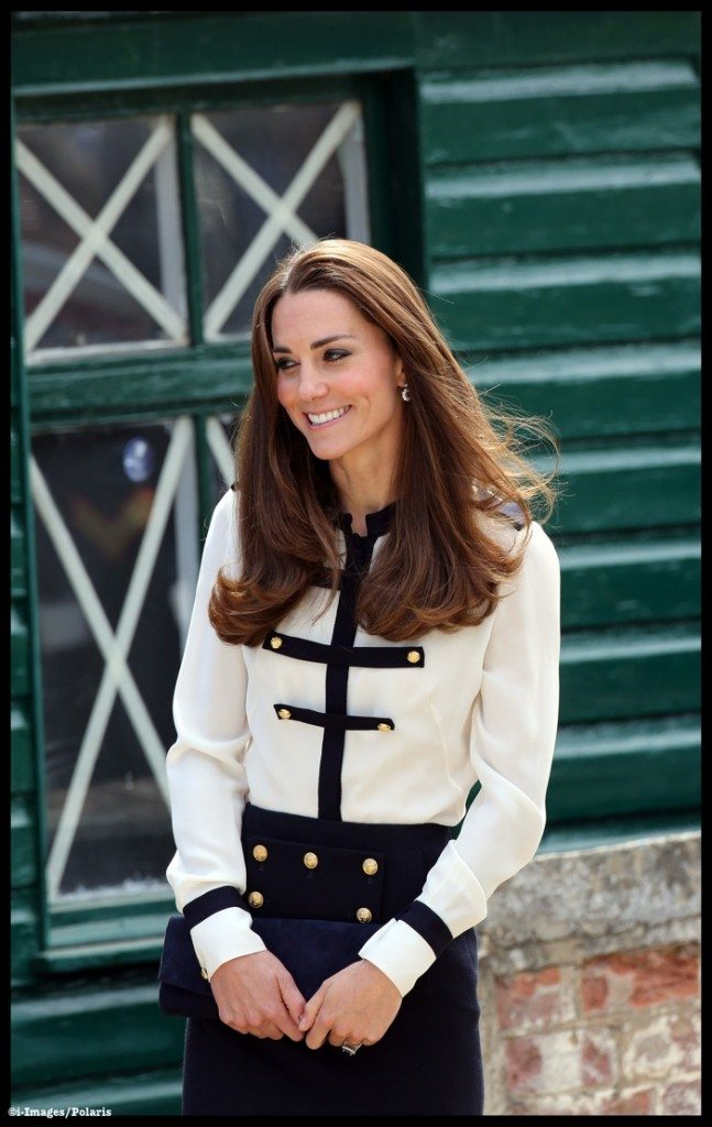 Duchess of Cambridge at Bletchley Park