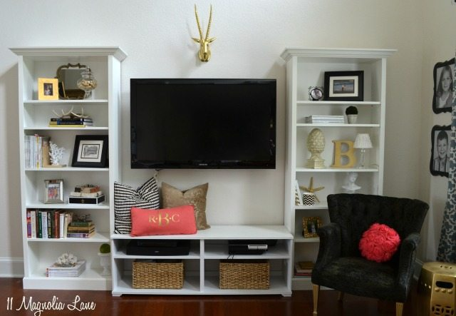 IKEA hack--Billy built ins