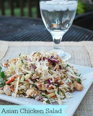 Summer Salad--Asian Chicken Salad