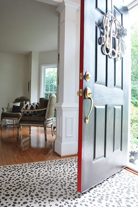 modern masters front door paint front door header