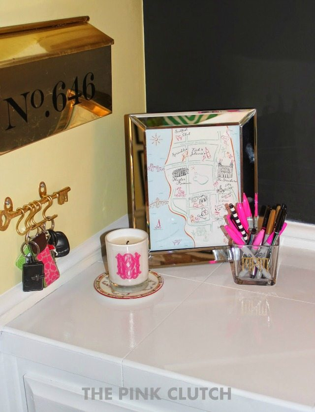 Glam & Organized Office | The Pink Clutch Blog