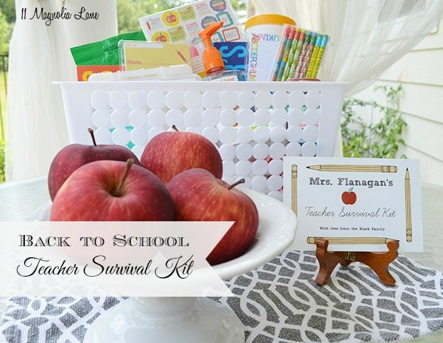 Back to School Teacher Survival Kit | 11 Magnolia Lane
