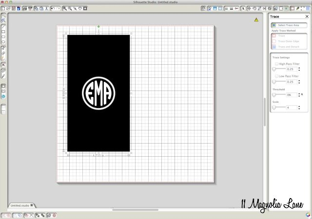 Round Monogram Tutorial | 11 Magnolia Lane