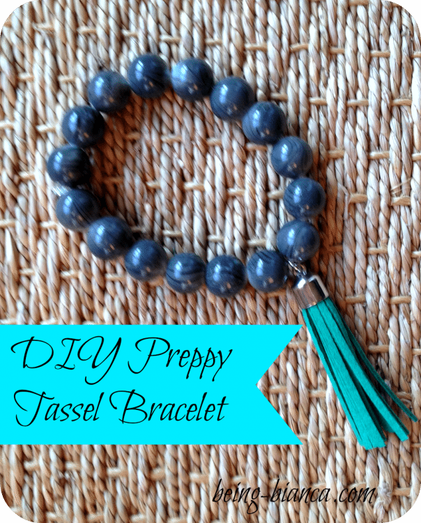 DIY Tassel Bracelet | Being Bianca