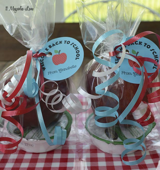 Apple and caramel treats for school | 11 Magnolia Lane