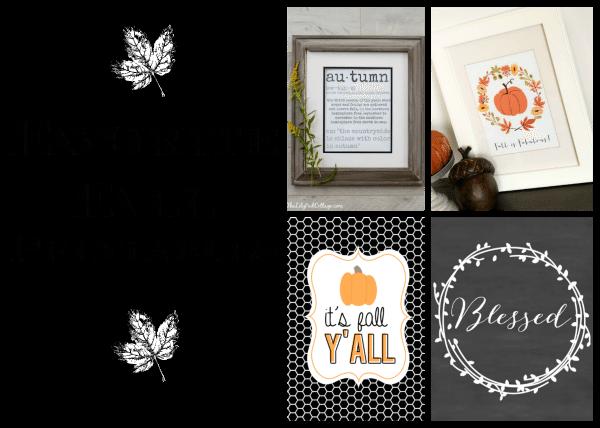 Fall Printables Roundup | 11 Magnolia Lane
