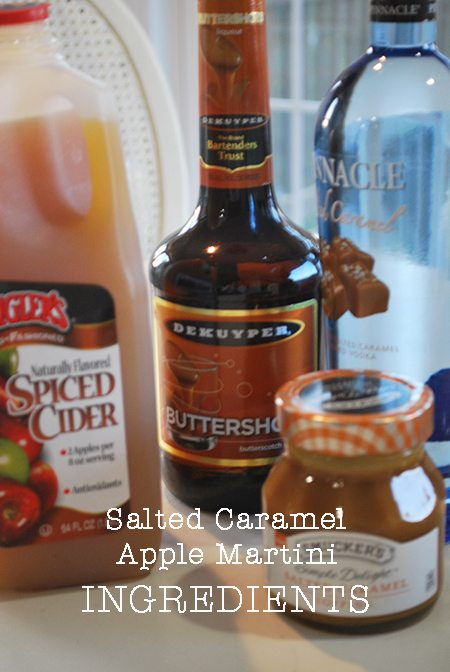 apple-caramel-martini-ingredients