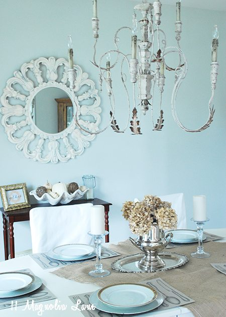dining-room-chandelier-mirror