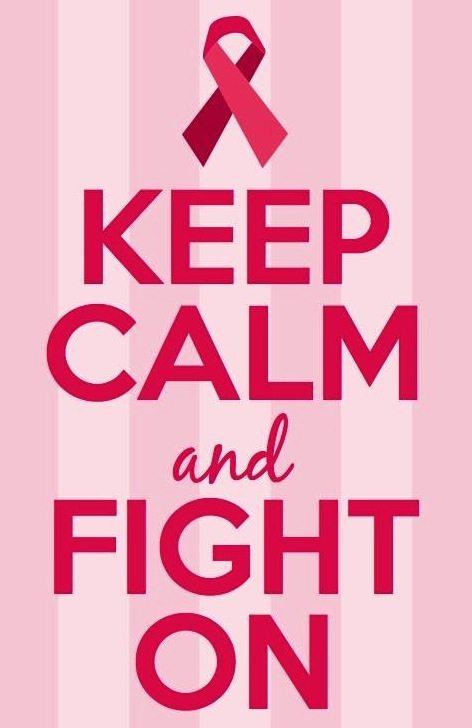 Keep Calm and Fight On | 11 Magnolia Lane
