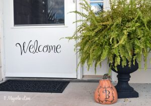 Outdoor Fall Decor Ideas | 11 Magnolia Lane