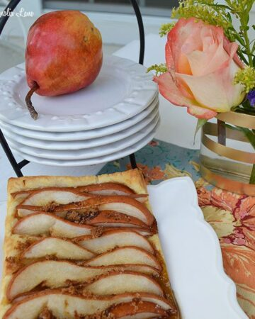Fall Dessert Recipe: Rustic Pear Tart | 11 Magnolia Lane