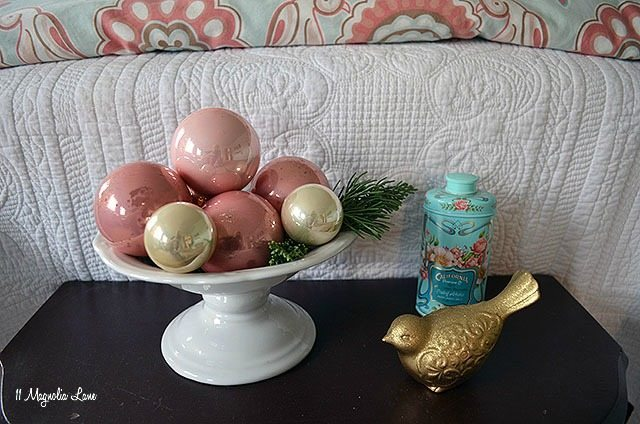 Aqua and Pink Girls' Room Christmas Decor | 11 Magnolia Lane