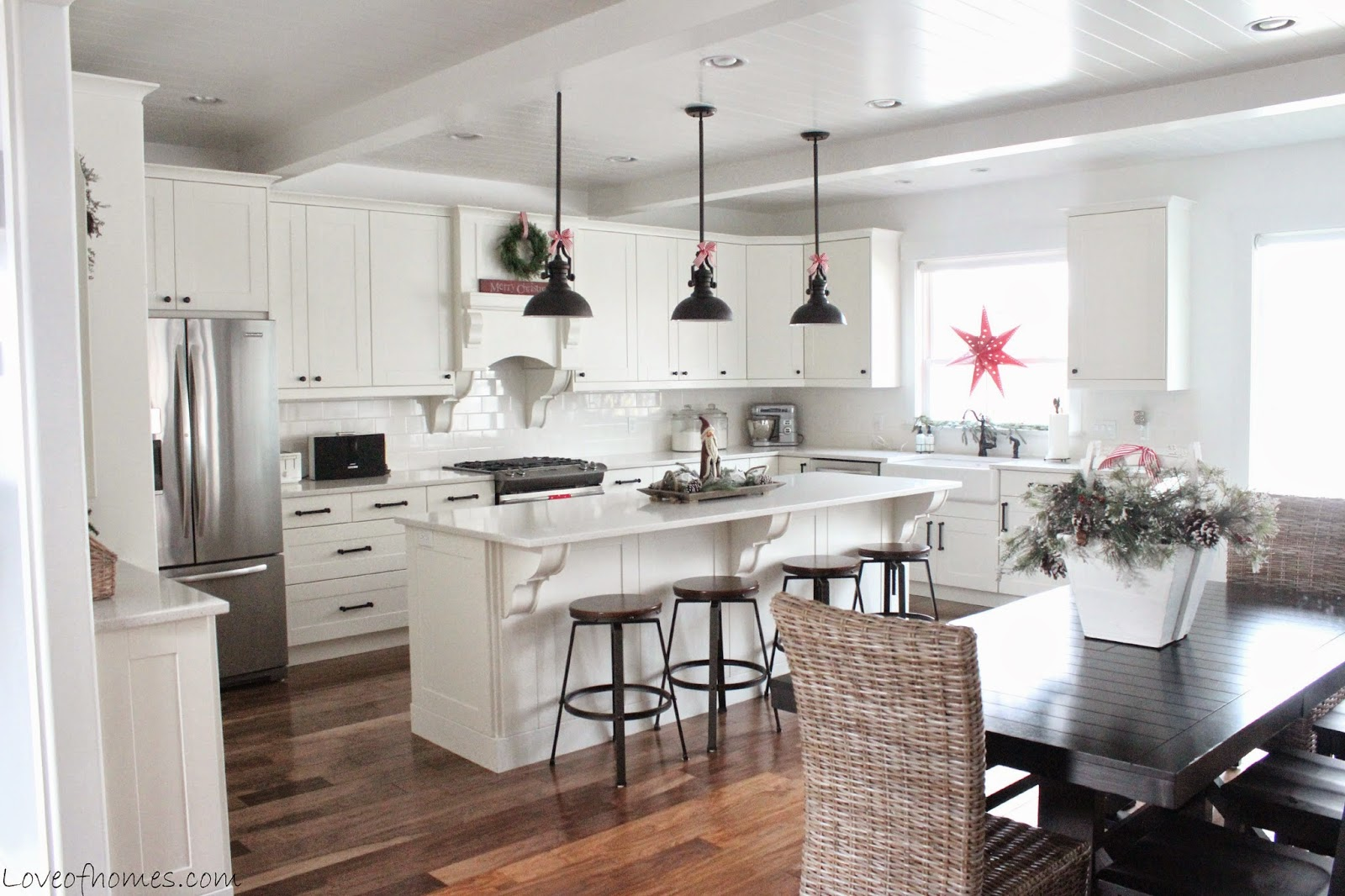Classic Kitchen from Love of Homes