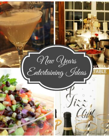 Ideas for Easy New Years Entertaining