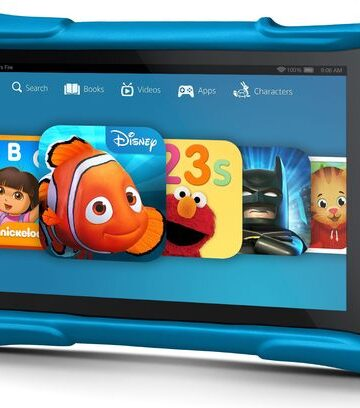 My daughter's favorite present--The Amazon Kids Fire HD Edition