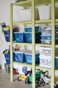 Operation: Organization --Garage Organization from Place Of My Taste