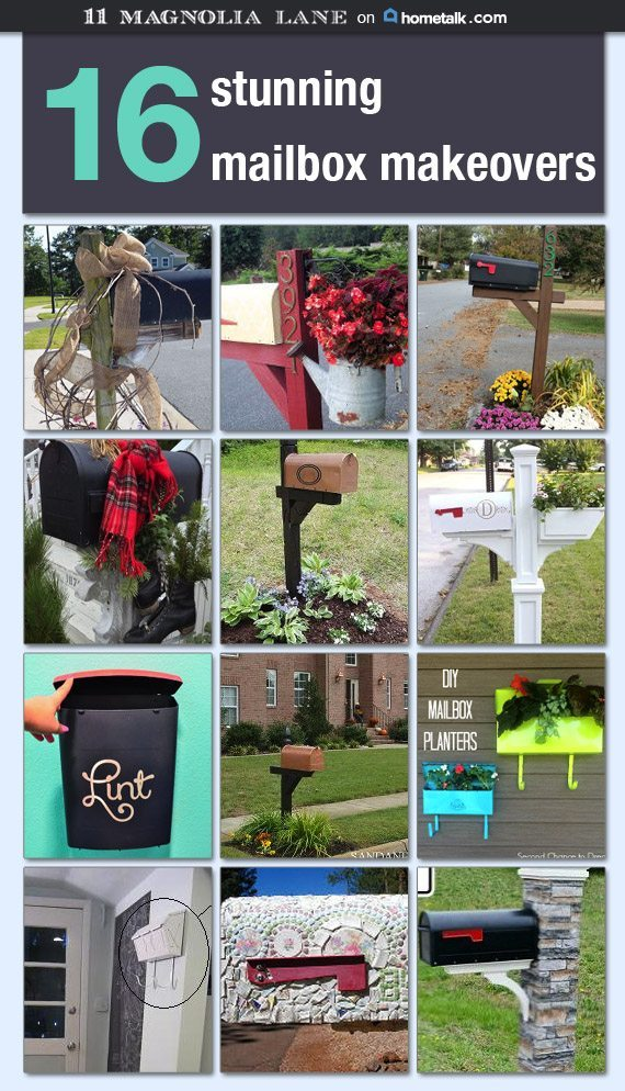 Mailbox Makeovers on Hometalk | 11 Magnolia Lane