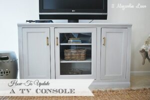 Refreshing your TV Console