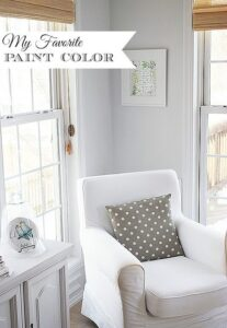My {Current} Favorite Paint Color--Rhinestone by Sherwin Williams