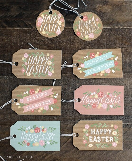 Easter-tags