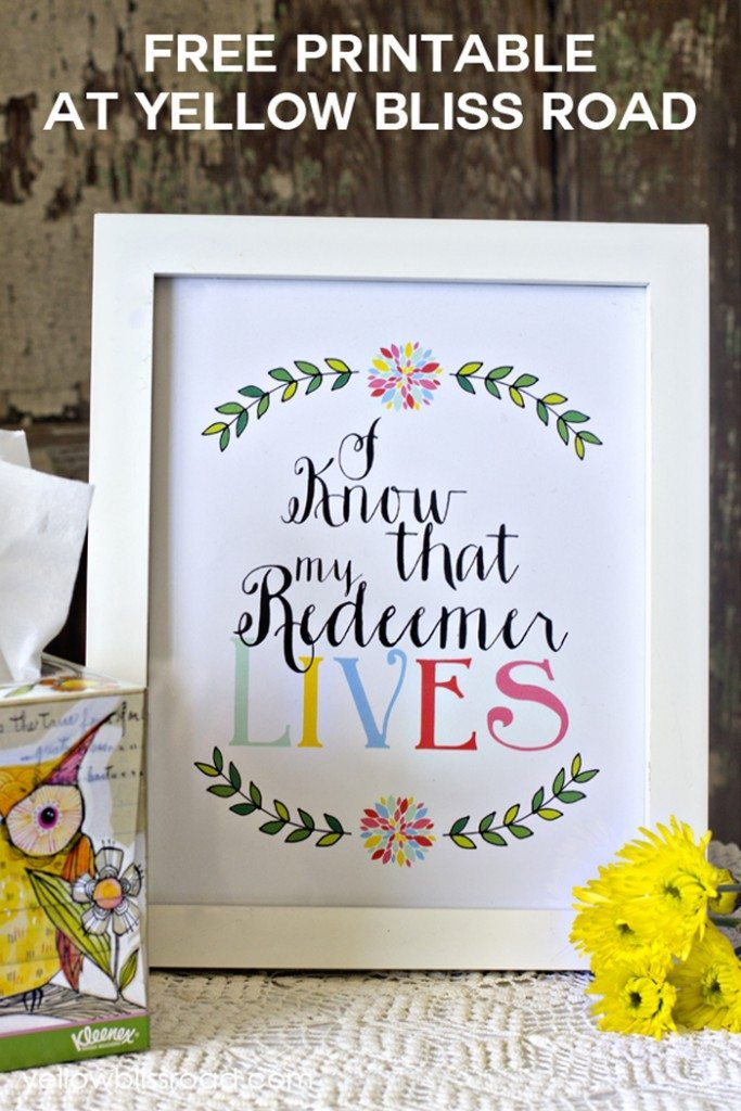 Free-Printable-My-Redeemer-Lives1