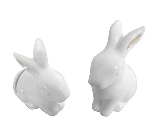 Bunny placecard holders from Target