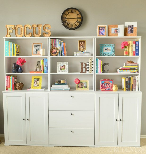 Tips on styling a bookcase
