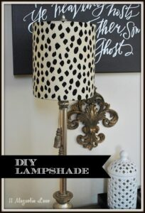 DIY Lampshade Kit from I-Like-That-Lamp