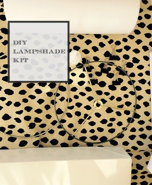 lampshade kit label